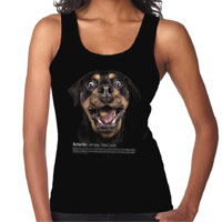Women's Dog Lover Vest Top - Rottweiler