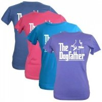 Women's Slogan T-Shirt - The Dogfather