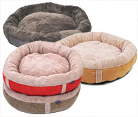 Wraparound Donut Dog Bed