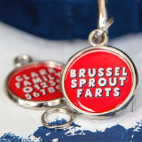 Xmas Dog Tag - Brussel Sprout Farts