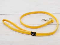 Faux Suede Yellow Dog Lead