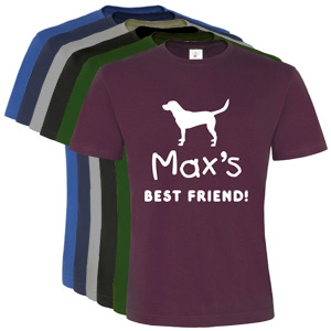 Unisex Personalised T-Shirt - Best Friend