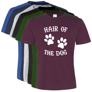 Unisex Slogan T-Shirt - Hair of the Dog