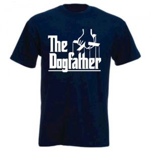 Unisex Slogan T-Shirt - The Dogfather