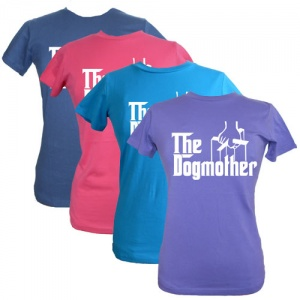 Women's Slogan T-Shirt - The Dogmother