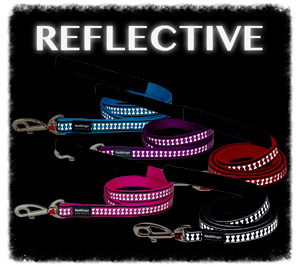 Reflective dog leads by Red Dingo