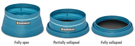 Ruffwear Bivy collapsible dog travel bowl