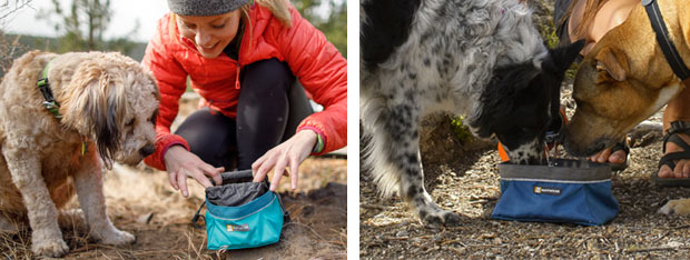 Ruffwear Quencher dog travel bowl