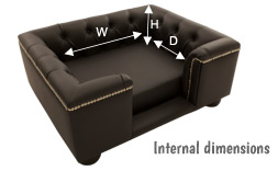 dog bed dimensions