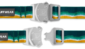 Ruffwear Top Rope dog collar buckle