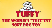Tuffy dog toys logo