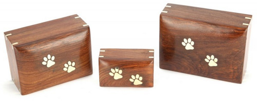wooden pet urn memory box Elstree