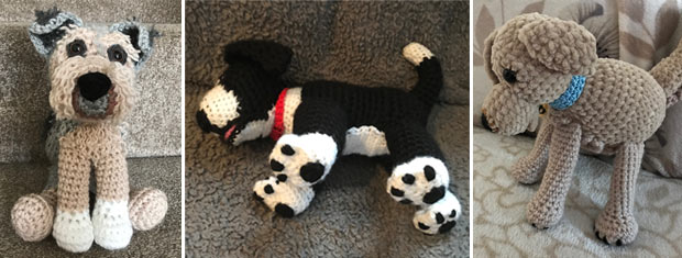 your pet as a cuddly crochet toy
